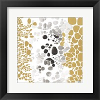 Framed Speckled Trio III