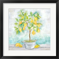 Framed Country Lemon Tree
