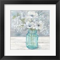 Framed Vintage Jar Bouquet I