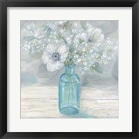 Framed Vintage Jar Bouquet II