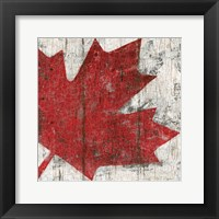Framed Canada Maple Leaf II