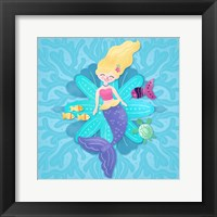 Framed Mermaid Blonde Hair