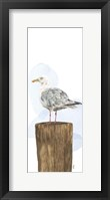 Framed Birds of the Coast Panel IV