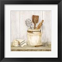 Framed Vintage Kitchen I