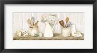 Framed Vintage Kitchen Panel