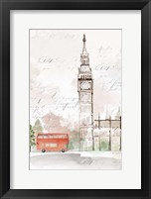 Framed Big Ben London