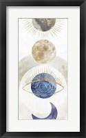 Framed Crescent Moon I