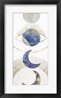 Framed Crescent Moon II