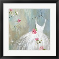 Framed White Dress
