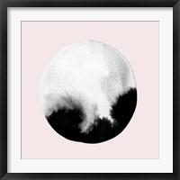 Framed New Moon I Blush
