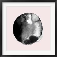 Framed New Moon II Blush