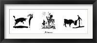 Framed Picasso Trilogy