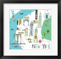Framed New York City