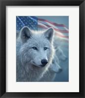Framed Arctic Wolves America