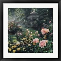 Framed Rose Garden - Paradise Found - Square