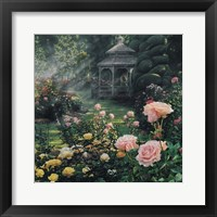 Framed Rose Garden - Paradise Found - Square