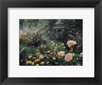 Framed Rose Garden - Paradise Found