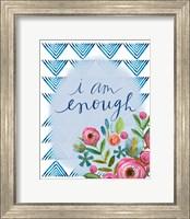 Framed I Am Enough