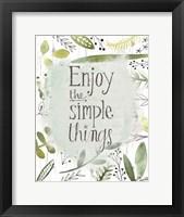 Framed Simple Things II