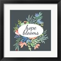 Framed Hope Blooms