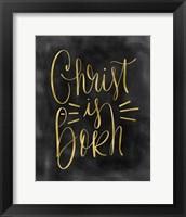 Framed Christ is Born