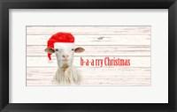 Framed Baary Christmas