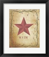 Framed Be a Star