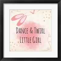 Framed Dance & Twirl