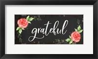 Framed Grateful