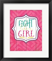 Framed Fight Like a Girl