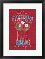 Framed Let Freedom Ring
