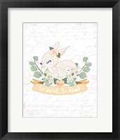 Framed Sweet Little Bunny