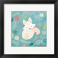 Framed Woodland Fox