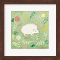 Framed Woodland Hedgehog