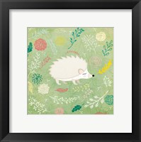 Framed Woodland Hedgehog