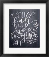 Framed I Still Fall