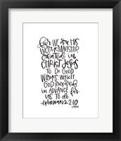 Framed Ephesians 2-10