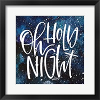 Framed Holy Night