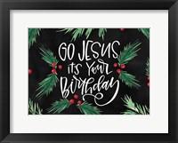 Framed Go Jesus