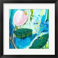 Framed Waterlily
