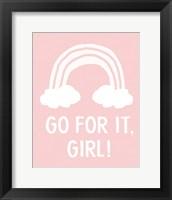 Framed Go For It Girl
