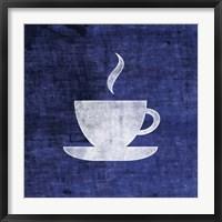 Framed Indigo Cup