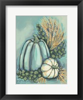 Framed Blue Harvest II