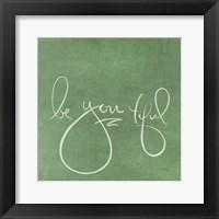 Framed Be You tiful