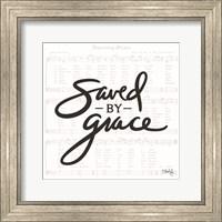 Framed Saved by Grace