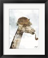 Framed Detective Giraffe