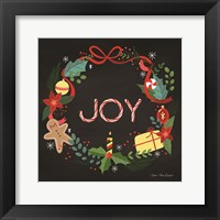 Framed Peppermint Joy