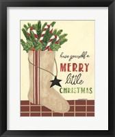 Framed Christmas Stocking