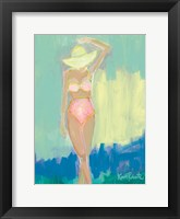 Framed Sunbather Series:  Summer Sway