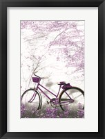 Framed Ultra Violet Bicycle